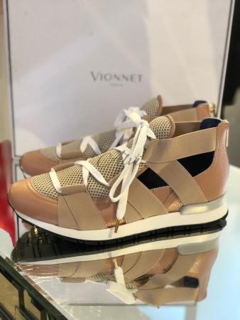 Sneakers nude Vionnet Paris