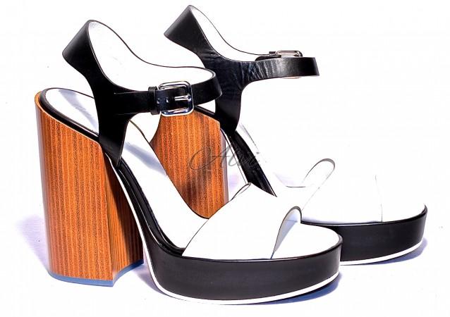 Sandali bianchi Jil Sander