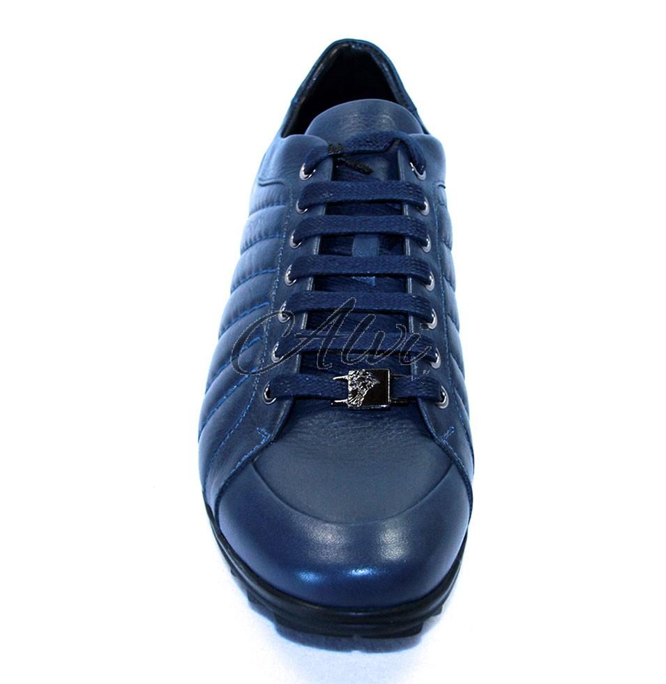 Sneakers uomo blu Versace