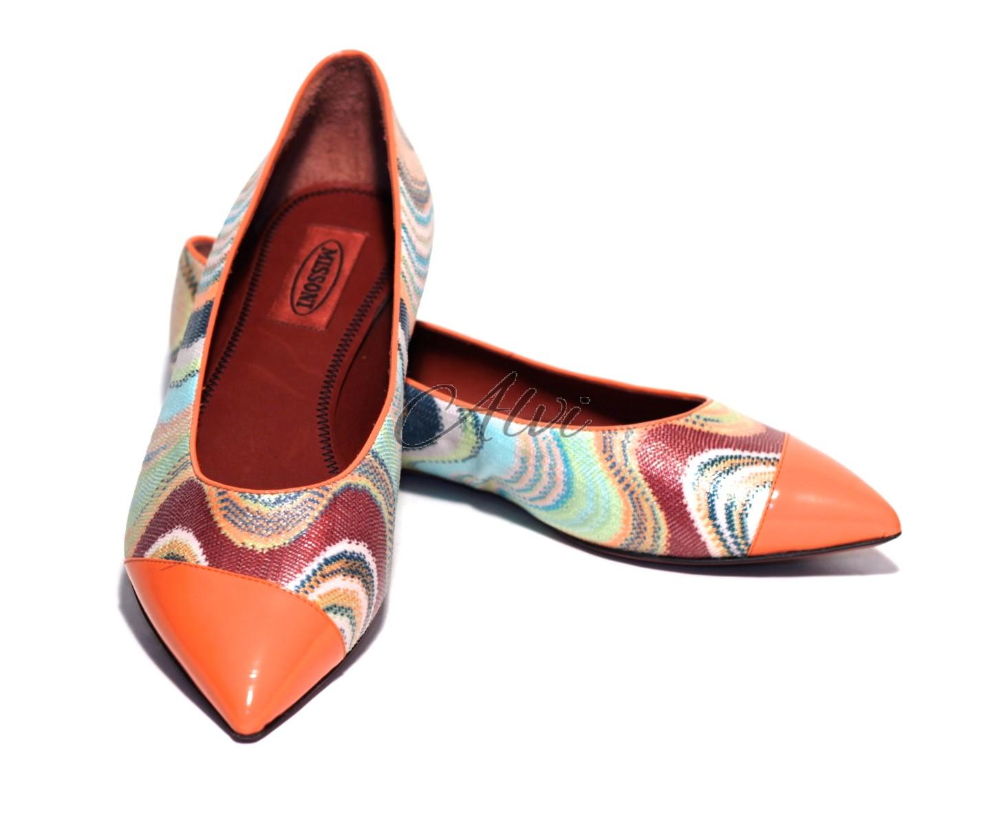 new style 52738 bb6a4 scarpe missoni in fantasia