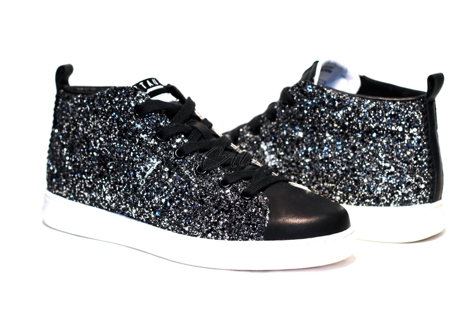 finest selection 286d3 907ae sneakers con glitter stau