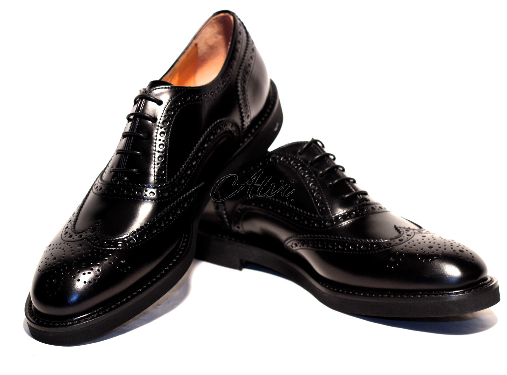 df16262895426a Scarpe allacciate stile maschile nere