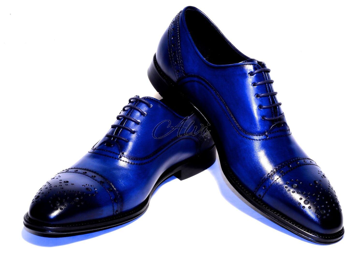 competitive price b8c4f 8d24b scarpe uomo eleganti blu