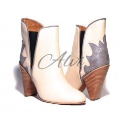 Stivaletto texano See by Chloé beige