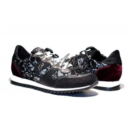 Sneakers Stau nere tricot