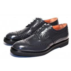 Scarpe allacciate stile maschile grigie