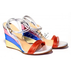 Sandali metallizzati Chloé