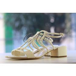 Sandali bianchi René Caovilla
