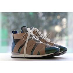Sneakers Vionnet verde beige