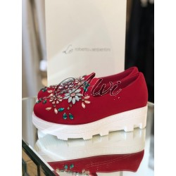 Slip-on Roberto Serpentini rosse