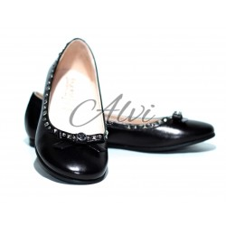 Ballerine Byblos in vitello nero