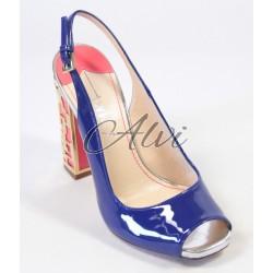 Sandalo Twi.. vernice blu elettrico
