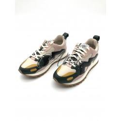 Sneakers Mulberry Multicolor Crema