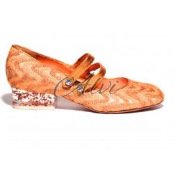 Ballerine Missoni arancio