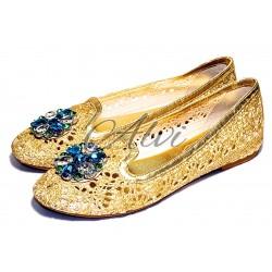 Pantofole pluspartout oro