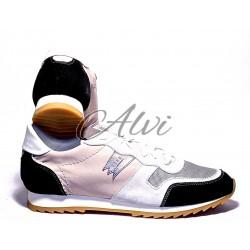 Sneakers uomo Stau beige e nere