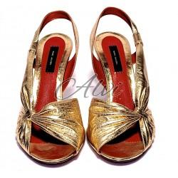 Sandali eleganti oro Marc Jacobs