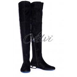 Stivali sopra il ginocchio neri