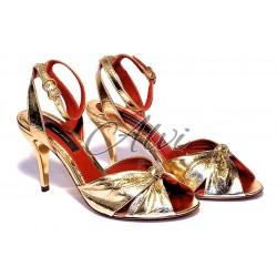 Sandali oro Marc Jacobs