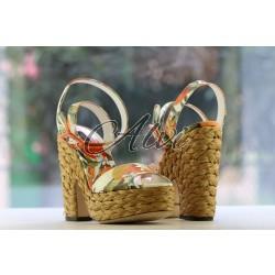 Sandali Dolce & Gabbana arance