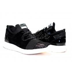 Sneakers Stau in velluto nero